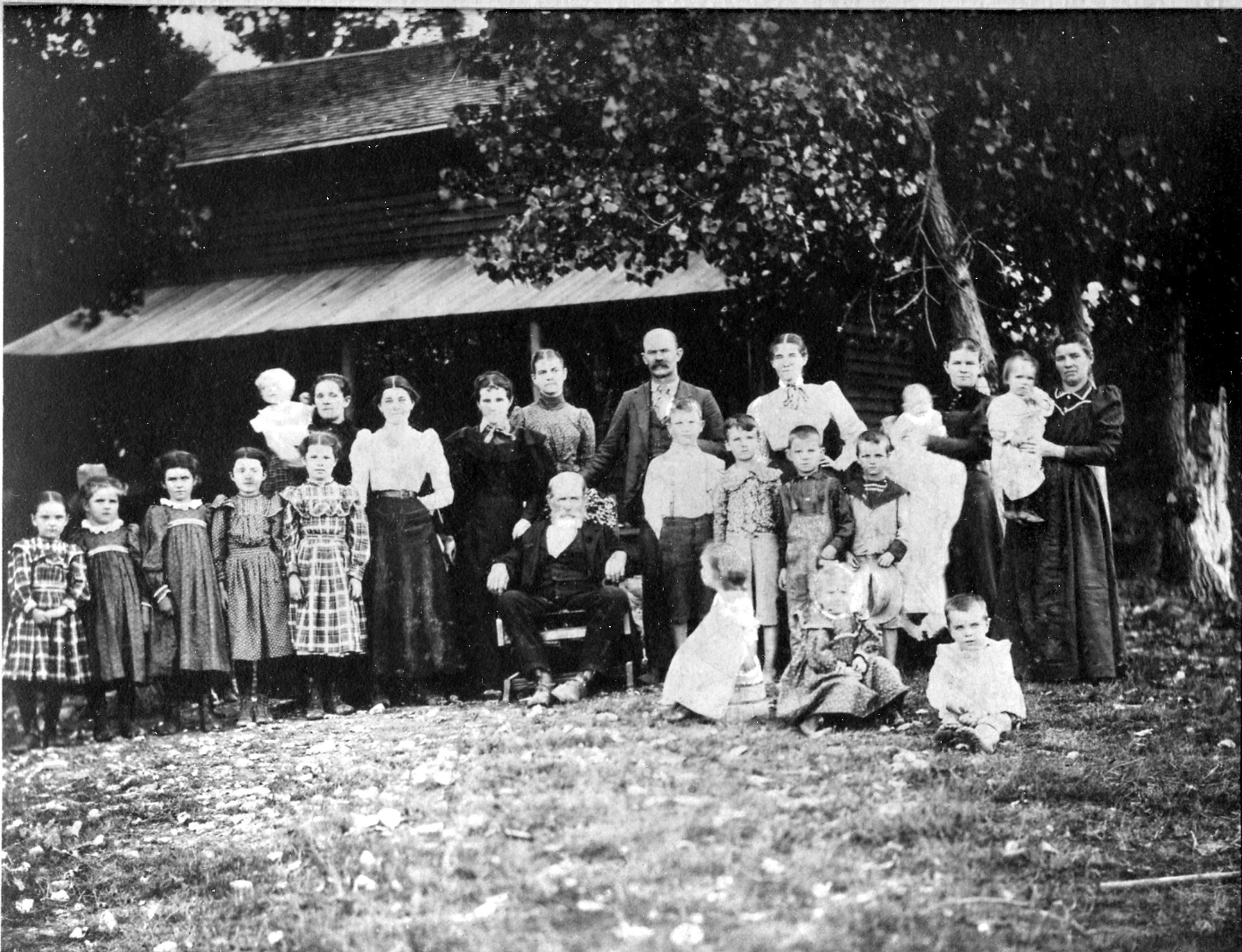 The Great Great Grandparents Guerin And Family